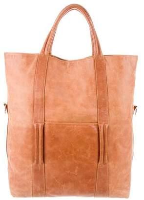 Maison Margiela Vera Pelle Leather Satchel