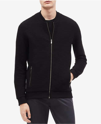 Calvin Klein Men's Zip-Front Sweater