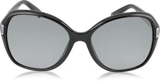 c4693c3876a Jimmy Choo ALANA S Round Framed Sunglasses w Crystal Inserts