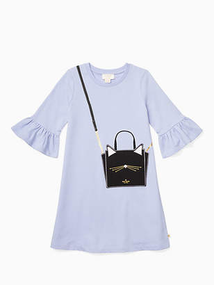 Kate Spade Girls cat handbag dress