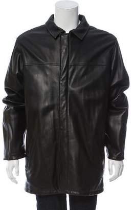 Loro Piana Kidskin Leather Jacket