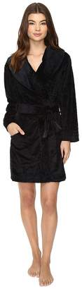 Midnight by Carole Hochman Sheared Plush Robe Women's Robe