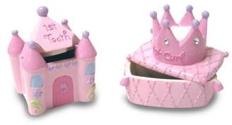 Baby Essentials Tooth and Curl Boxes, Princess by
