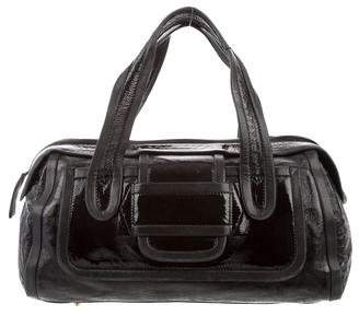 Pierre Hardy Patent Leather Handle Bag
