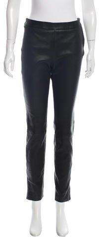 ValentinoValentino Leather Skinny Pants w/ Tags