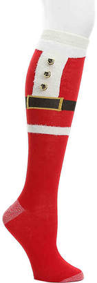 Mix No. 6 Santa Jingle Bell Knee Socks - Women's