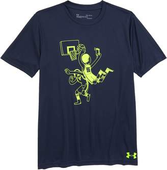 Under Armour B-Ball Selfie HeatGear(R) Graphic T-Shirt