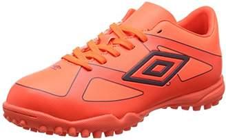 Umbro Unisex Kids' Velocita III Club Tf-Jnr Football Boots, Multicolour (Fiery Coral/Winter Bloom), 35.5 EU