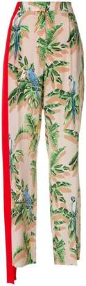 Stella McCartney tropical print trousers