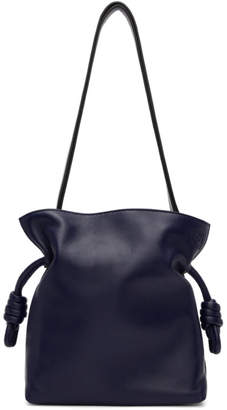 Loewe Navy Small Flamenco Knot Bag
