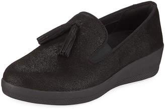 FitFlop Tasseled Slip-On Skate Shoe