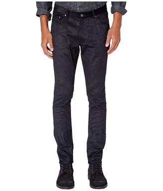 John Varvatos Collection Chelsea Fit Jeans with Zip Fly Closure in Navy J295V3