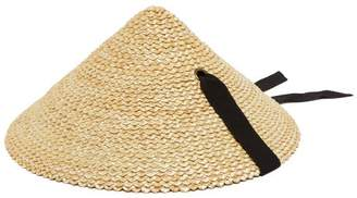 Lola Hats Pine Cone Straw Hat - Womens - Black