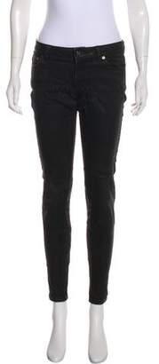 Michael Kors Metallic Skinny Jeans