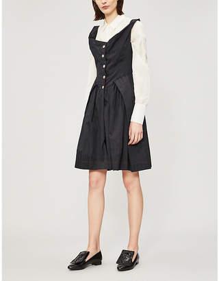 Vivienne Westwood Saturday flared-skirt sleeveless cotton dress