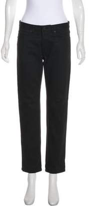Burberry Mid-Rise Straight-Leg Jeans w/ Tags