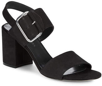 Stuart Weitzman City Leather Ankle Strap Sandal