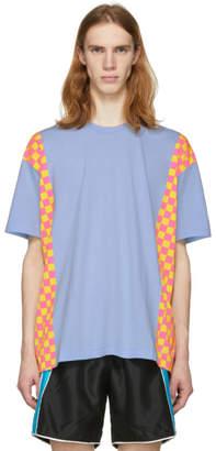 Comme des Garcons Blue Side Check T-Shirt