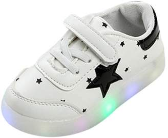 5d3a312f Lavany Kids Luminous Sneakers,Toddler Baby LED Light Star Shoes For 1-6  Years