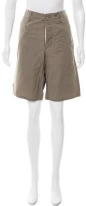 Rag & Bone High-Rise Knee-Length Shorts w/ Tags