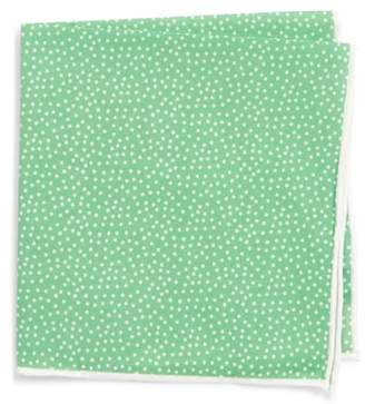 Southern Tide Sagamore Spots Cotton & Silk Pocket Square
