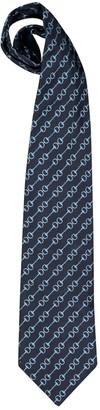 Gucci Blue Silk Ties