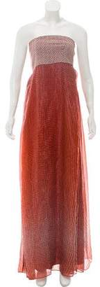Diane von Furstenberg Silk Maxi Dress w/ Tags