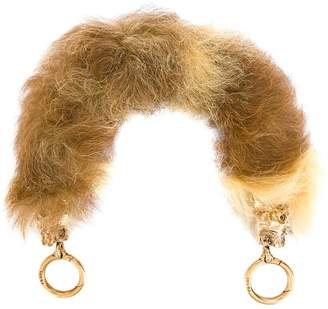 Prada Camel fur bag handle