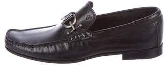 Donald J Pliner Dacio Chain-Link Leather Loafers