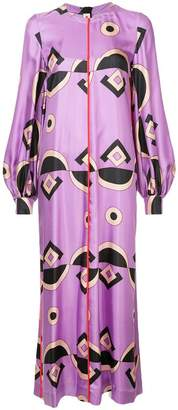 Marni all-over print dress