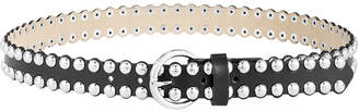 Steve Madden Studded & Scalloped Edge Belt