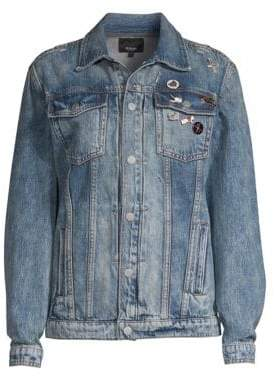 Hudson Oversized Denim Trucker Jacket