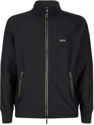 BOSS GREEN Technical Stretch Zip Jacket