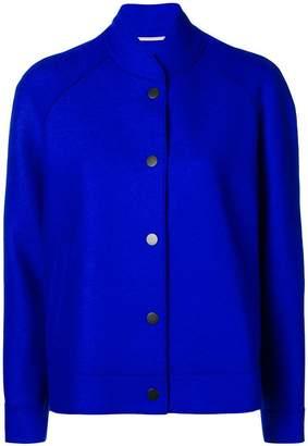 Harris Wharf London buttoned bomber jacket