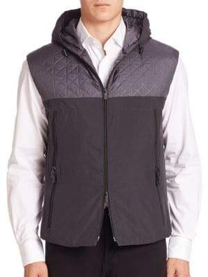 Giorgio Armani Hooded Down Vest