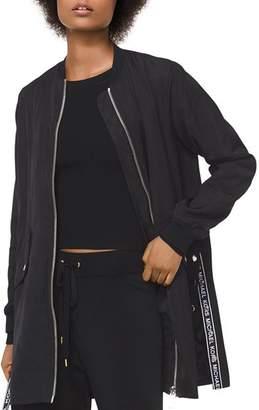 MICHAEL Michael Kors MICHAEL Logo Tape Anorak Jacket