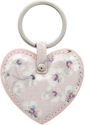 Cath Kidston Wellesley Ditsy Heart Key Fob