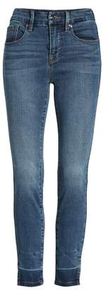 Good American Good Legs Side Slit Ankle Skinny Jeans