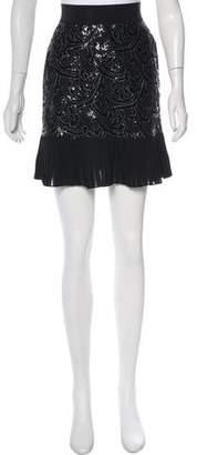 Francesco Scognamiglio Embellished Mini Skirt