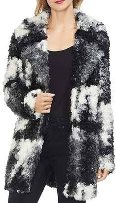 Vince Camuto Marled Faux Fur Coat