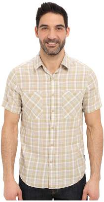 Royal Robbins Biscayne Bay Plaid Short Sleeve Shirt Men's Short Sleeve Button Up
