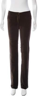 Missoni Velvet Mid-Rise Pants