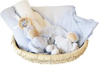 Under the Nile 7-Piece Organic Egyptian Cotton & Palm Basket Gift Set