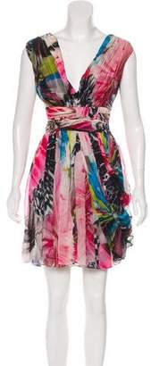 Matthew Williamson Silk Printed Dress