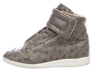 Maison Margiela Ostrich Future Leather Sneakers