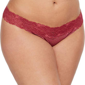 235f9326ce Plus Size Thong Panties - ShopStyle