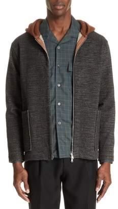 TOMORROWLAND Hooded Cardigan