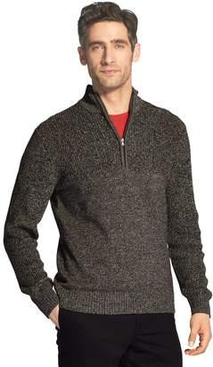 Izod Men's Newport Classic-Fit Marled Quarter-Zip Sweater