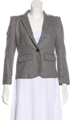 Boy By Band Of Outsiders Virgin Wool Button-Up Blazer