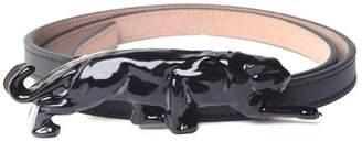 Krizia Panther Leather Belt